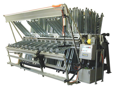 12.5' wide, 20-section clamp carrier