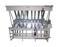 6-section pneumatic clamp carrier