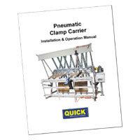 pneumatic clamp carrier manual
